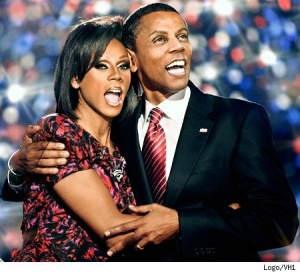 RuPaul as Obamas